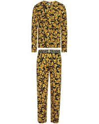 Versace - Patterned Pyjama - Lyst