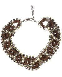 DSquared² - Embellished Necklace - Lyst