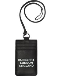 Burberry - Logo-printed Card Case - Lyst