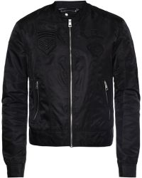Just Cavalli - Patched Jacket - Lyst
