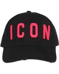 DSquared² - Embroidered Lettering Baseball Cap - Lyst