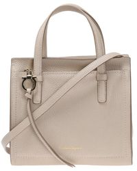 Ferragamo - 'amy' Leather Shoulder Bag - Lyst