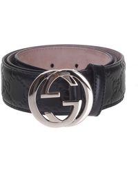 Gucci - 'ssima' Belt - Lyst