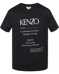 ccf4ba38 Lyst - KENZO Tiger T-shirt in Black for Men