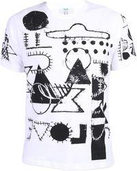 KENZO - Cotton T-shirt - Lyst