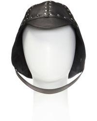 Loewe Logo-embossed Hat - Black