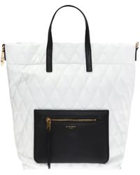 Givenchy - Branded Quilted Backpack - Lyst