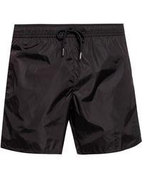 Moncler - Black Mare Swim Shorts - Lyst