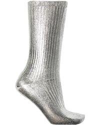Acne Studios - Metallic Socks - Lyst