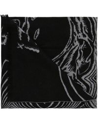 McQ - Scarf With Inscriptions - Lyst