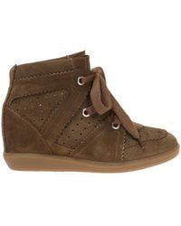 Étoile Isabel Marant - Wedge 'bobby' Trainers - Lyst