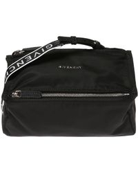 Givenchy - Pandora' Shoulder Bag With A Metal Logo - Lyst
