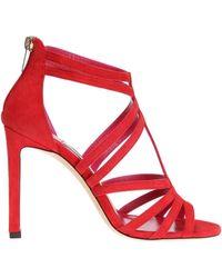Jimmy Choo - 'selina' Heeled Sandals - Lyst