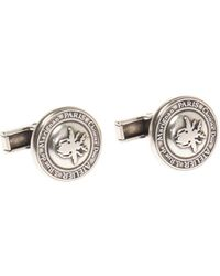 Dior Branded Cuff Links - Metallic