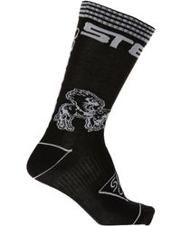 Stella McCartney - Patterned Socks With Logo - Lyst
