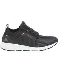 EA7 Sport Shoes With A Printed Logo