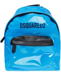 DSquared² - Men's Logo Pvc Zip-top Backpack - Lyst