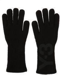 Y-3 - Logo-printed Gloves - Lyst