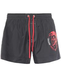 DIESEL - Logo Swimming Shorts - Lyst
