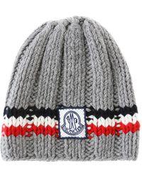 Moncler Gamme Bleu - Cashmere Logo Hat - Lyst