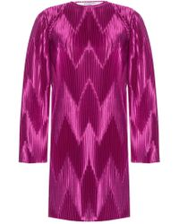 Givenchy - Pleated Dress - Lyst