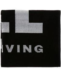 DIESEL - Logo Bath Towel - Lyst