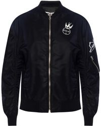 McQ - Patched Bomber Jacket - Lyst