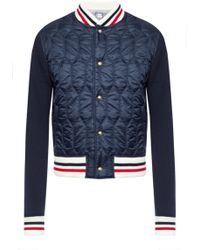 Moncler Gamme Bleu - Quilted Front Jacket - Lyst