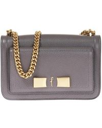 904653271194 Lyst - Ferragamo  vara  Shoulder Bag in Natural