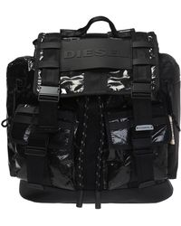 6c8c8a2b0b DIESEL Black F-discover Backpack in Black for Men - Lyst
