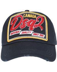 DSquared² - Logo Baseball Cap - Lyst