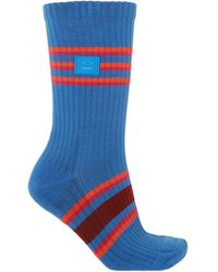 Acne Studios - Embroidered Socks - Lyst