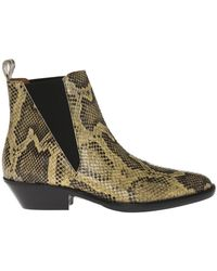 Isabel Marant - 'drenky' Heeled Ankle Boots - Lyst