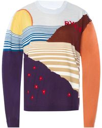 Sonia Rykiel - Patterned Sweater - Lyst