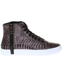 DIESEL - 's-nentish W' High-top Sneakers - Lyst