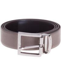 Giorgio Armani - Logo Buckle Belt - Lyst
