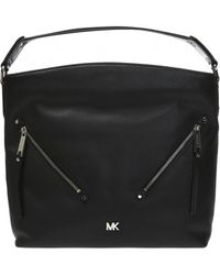4a15fae85c27 MICHAEL Michael Kors Evie Shoulder Bag in Black - Lyst
