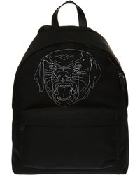 Givenchy - Rottweiler Head Printed Backpack - Lyst