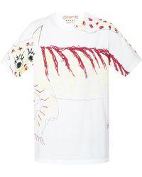 Marni - Patterned T-shirt - Lyst
