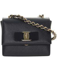 Ferragamo - 'ginny' Shoulder Bag - Lyst