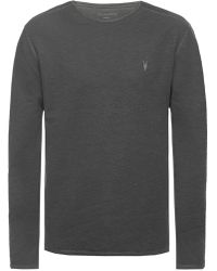 AllSaints - 'clash' T-shirt With Long Sleeves - Lyst