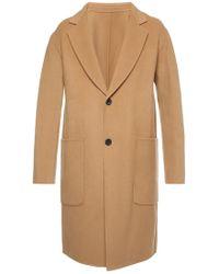 AMI - Coat With Pockets - Lyst