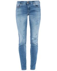 DIESEL - 'gracey' Super Skinny Jeans - Lyst