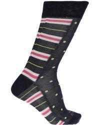 Etro - Patterned Socks - Lyst