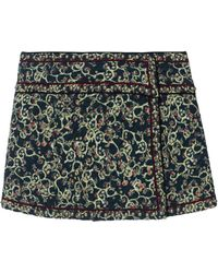 Étoile Isabel Marant - Patterned Quilted Skirt - Lyst