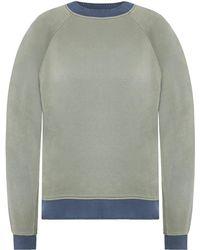 Acne Studios - Sweatshirt With Decorative Ribbing - Lyst