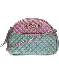ffa876f74c1 Lyst - Gucci Small Trapuntata Floral Quilted Crossbody Bag -
