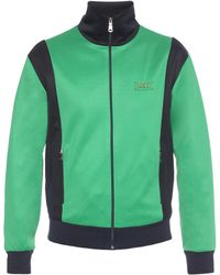 288f3411181 Lyst - Gucci Azzure Patch Zip-up Sweatshirt in Blue for Men