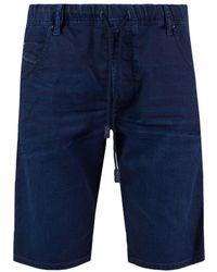 DIESEL - Denim Shorts - Lyst