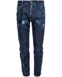 DSquared² - 'classic Kenny Twist' Distressed Jeans - Lyst